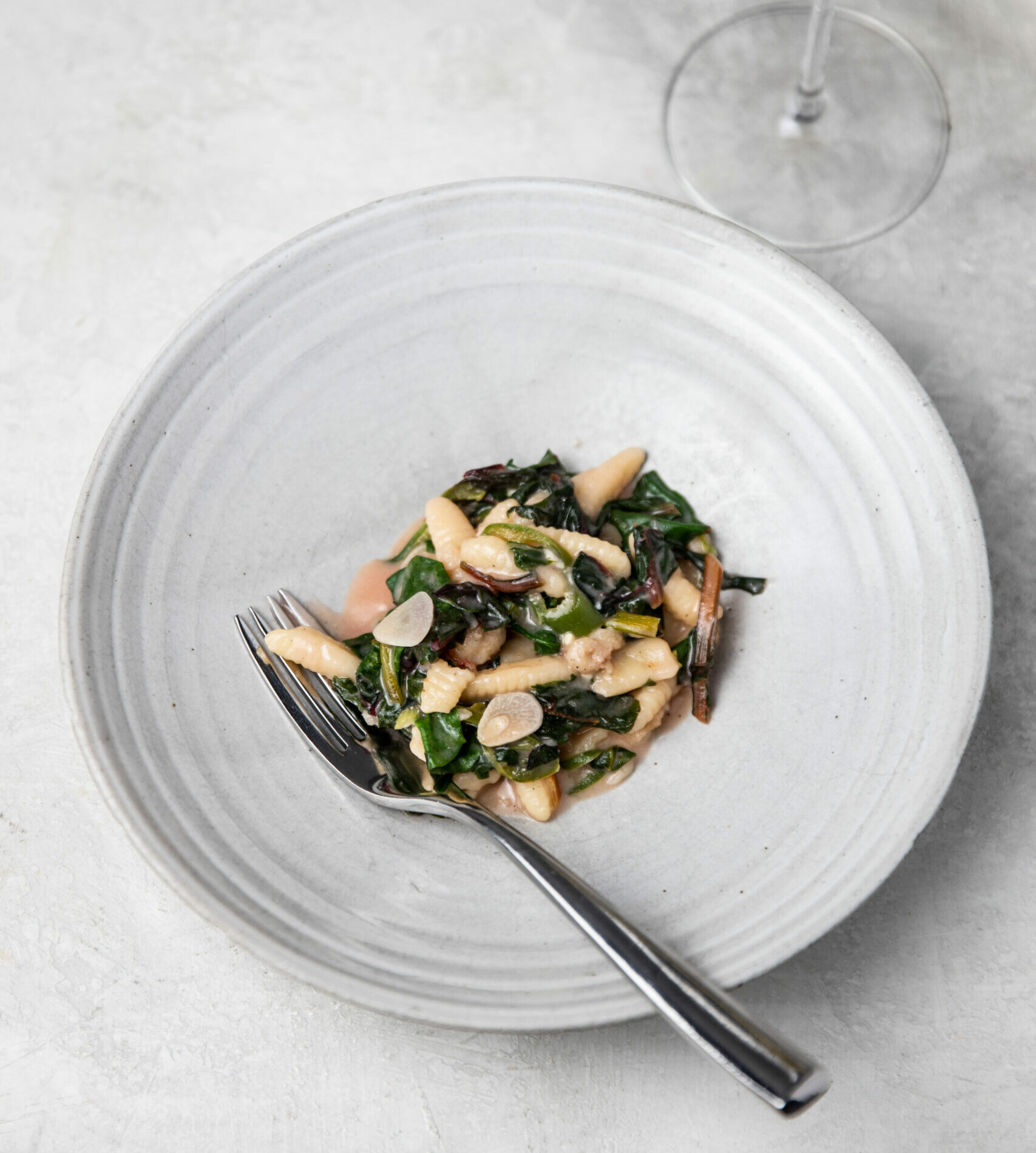 Pasta with Chard