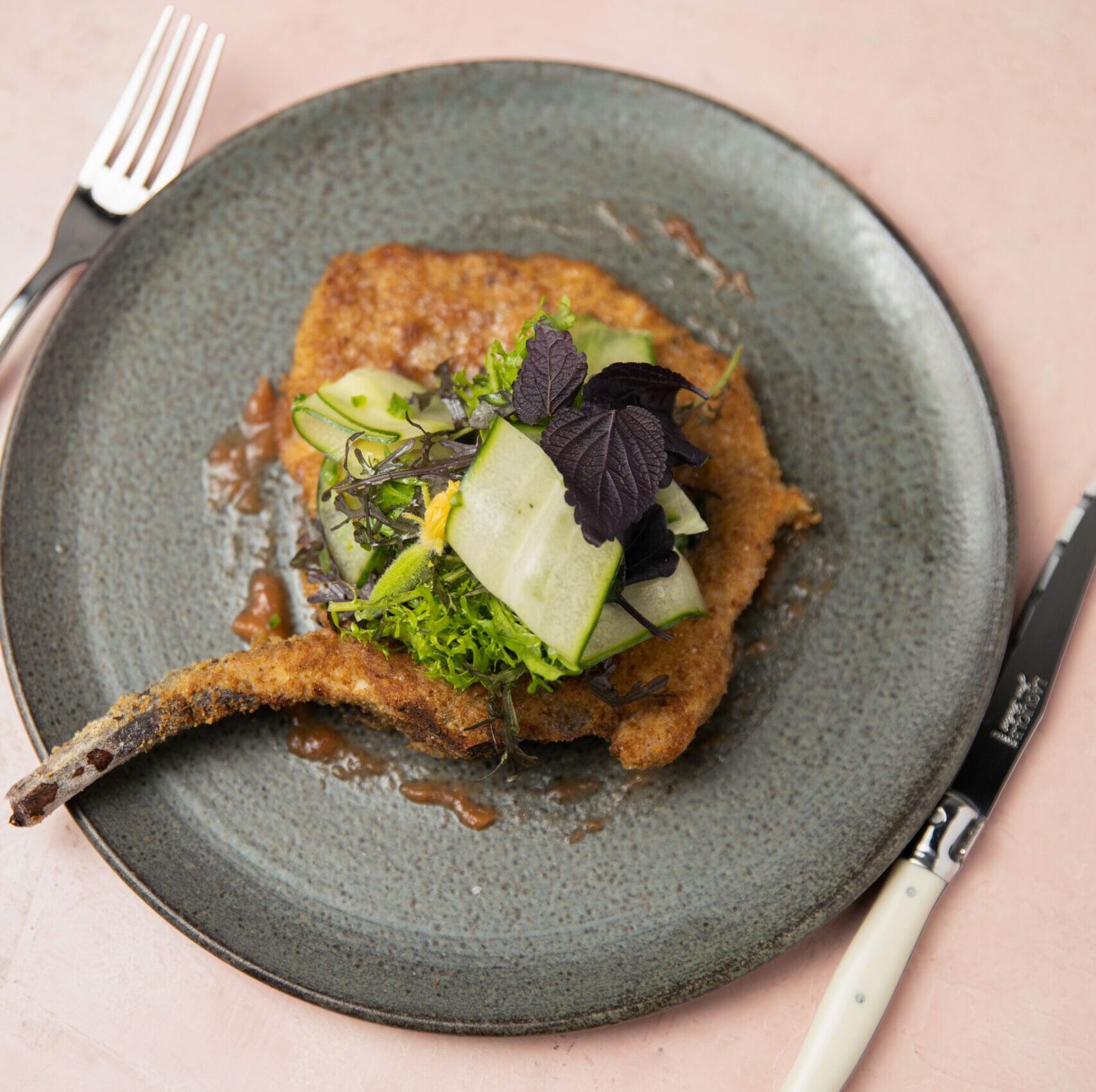 Pork Chop with Shiso