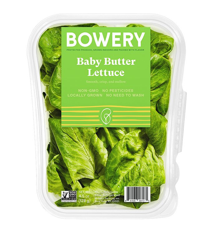 Baby Butter Lettuce in Package