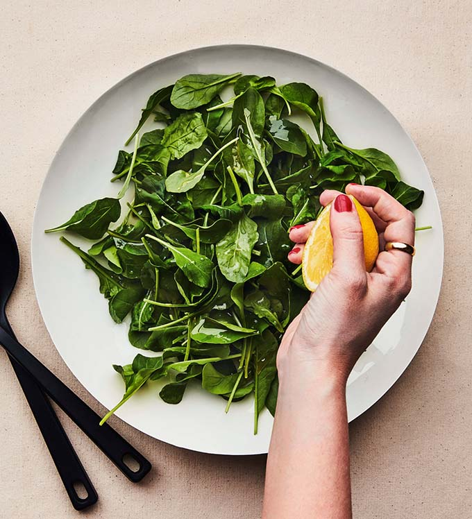 Bowery Arugula Salad With Lemon and Olive Oil