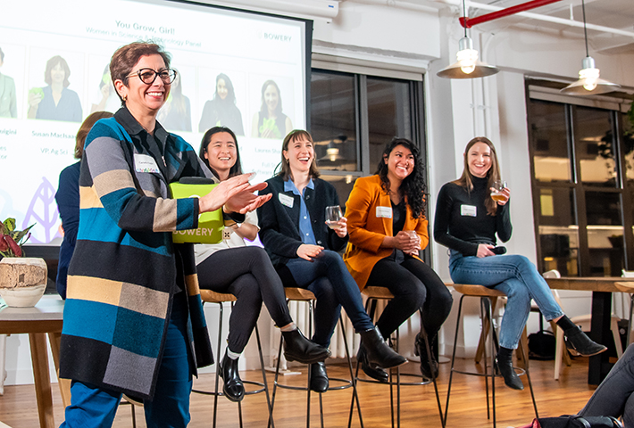 Bowery Farming Women in Science Panel Discussion