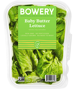 Bowery Baby Butter Lettuce Package