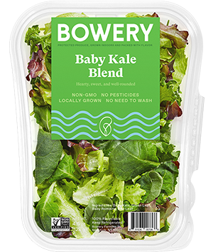 Bowery Baby Kale Blend Package