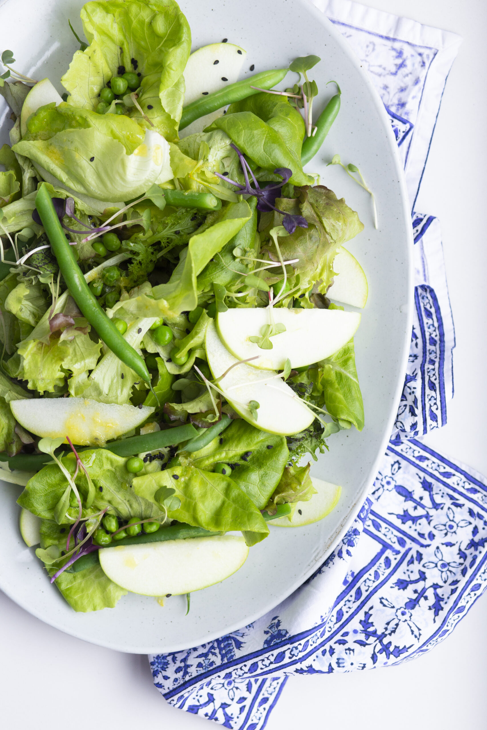"Bowery Spring Blend ""Modern Green Goddess"" Salad"